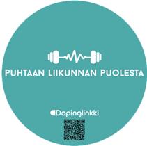 puhtaan liikunnan puolesta adt urjala doping dopinglinkki